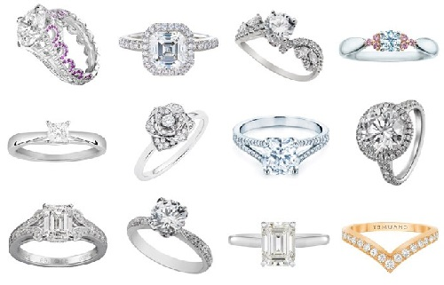 different types of ring settings